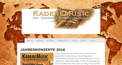 Preview of kaderemusic.ch